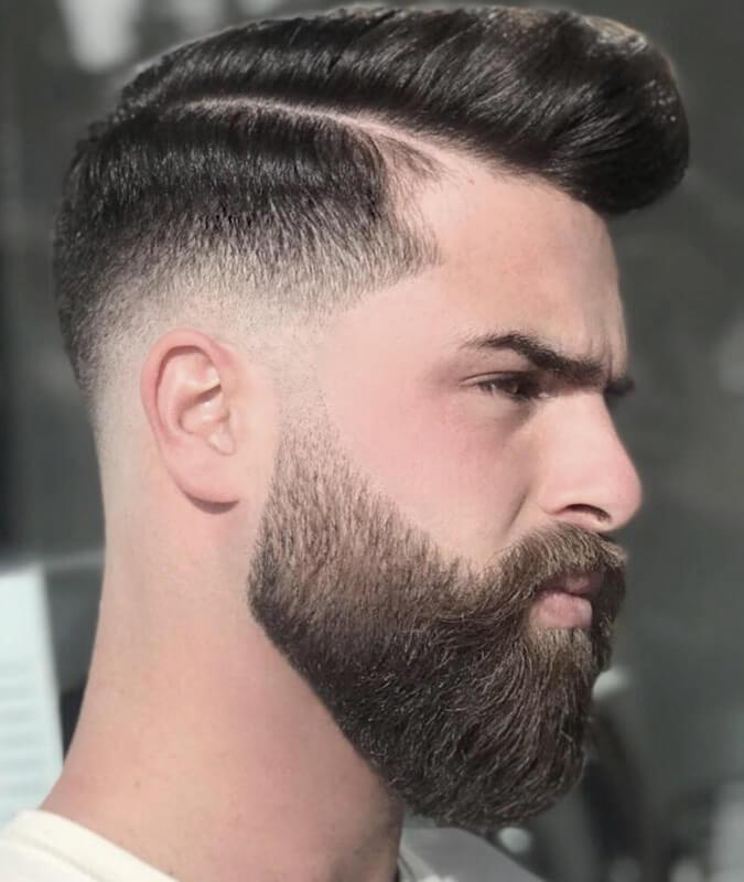 Beard Styles Faded-Beard