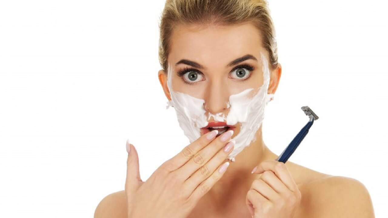 Is Shaving Your Face Bad for a Woman