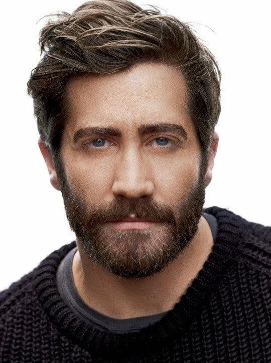 Jake-gyllenhaal-beard-Heavy Stubble, Beard Lengths Women Find Most Attractive